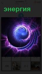 изображение энергии в виде спирали