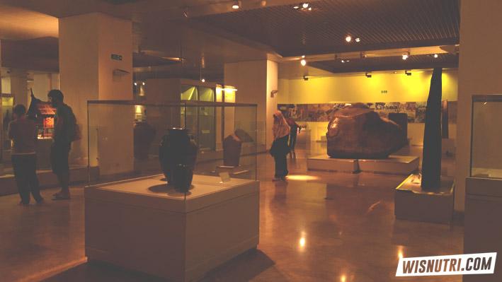 Arca Emas Gua Seplawan di Museum Nasional Jakarta