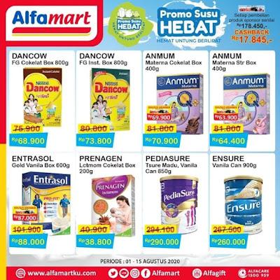 #Promosi247 #Alfamart - #PromoKatalog Susu Hebat Periode 01 - 15 Agustus 2020