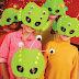 Máscaras de Alien en foami con molde