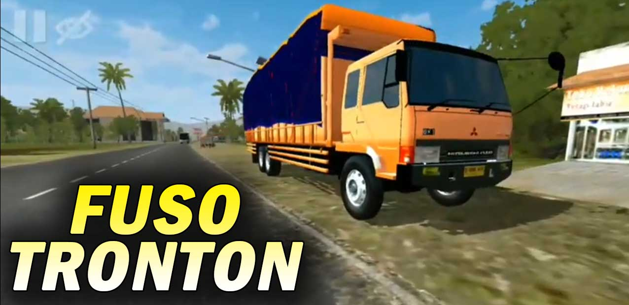 Mod Fuso Fighter Tronton Bussid Android
