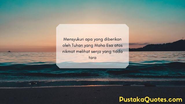 Quotes Senja Filosofi Kehidupan