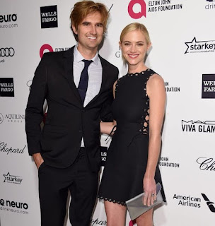 Blake Anderson Hanley with his ex-wife Emily Wickersham