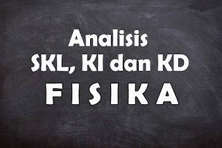 Analisis SKL KI dan KD Fisika SMA Tahun 2021