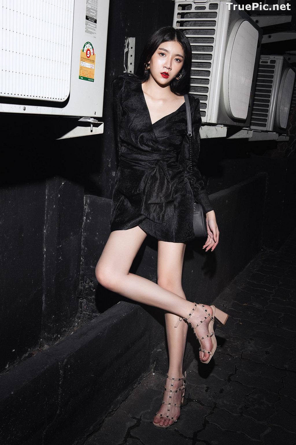 Image Thailand Model - Sasi Ngiunwan - Black For SiamNight - TruePic.net - Picture-8