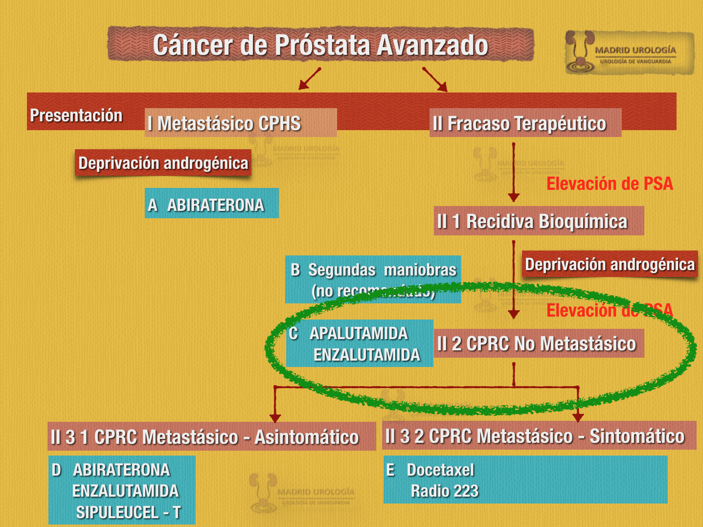 cáncer de próstata avanzado tiempo de vida en