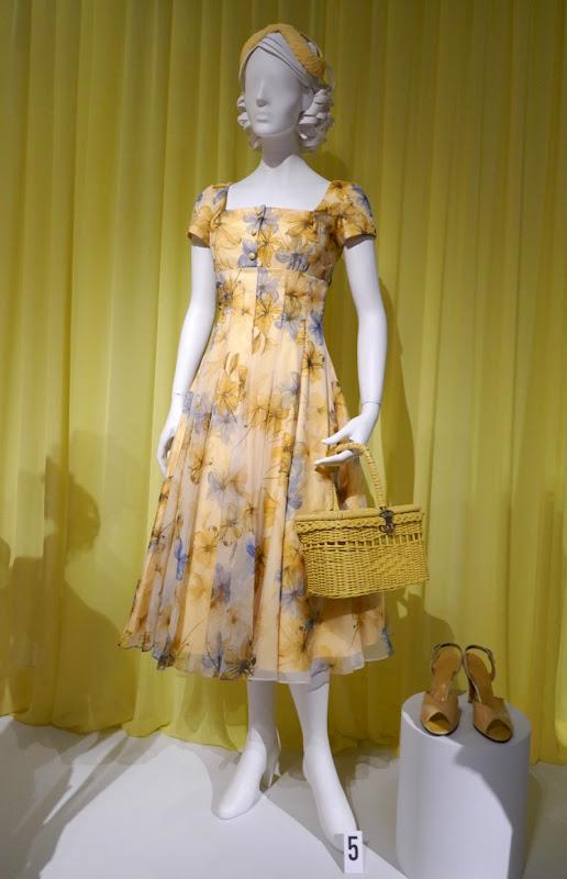 Marvelous Mrs Maisel season 2 Midge yellow flower dress