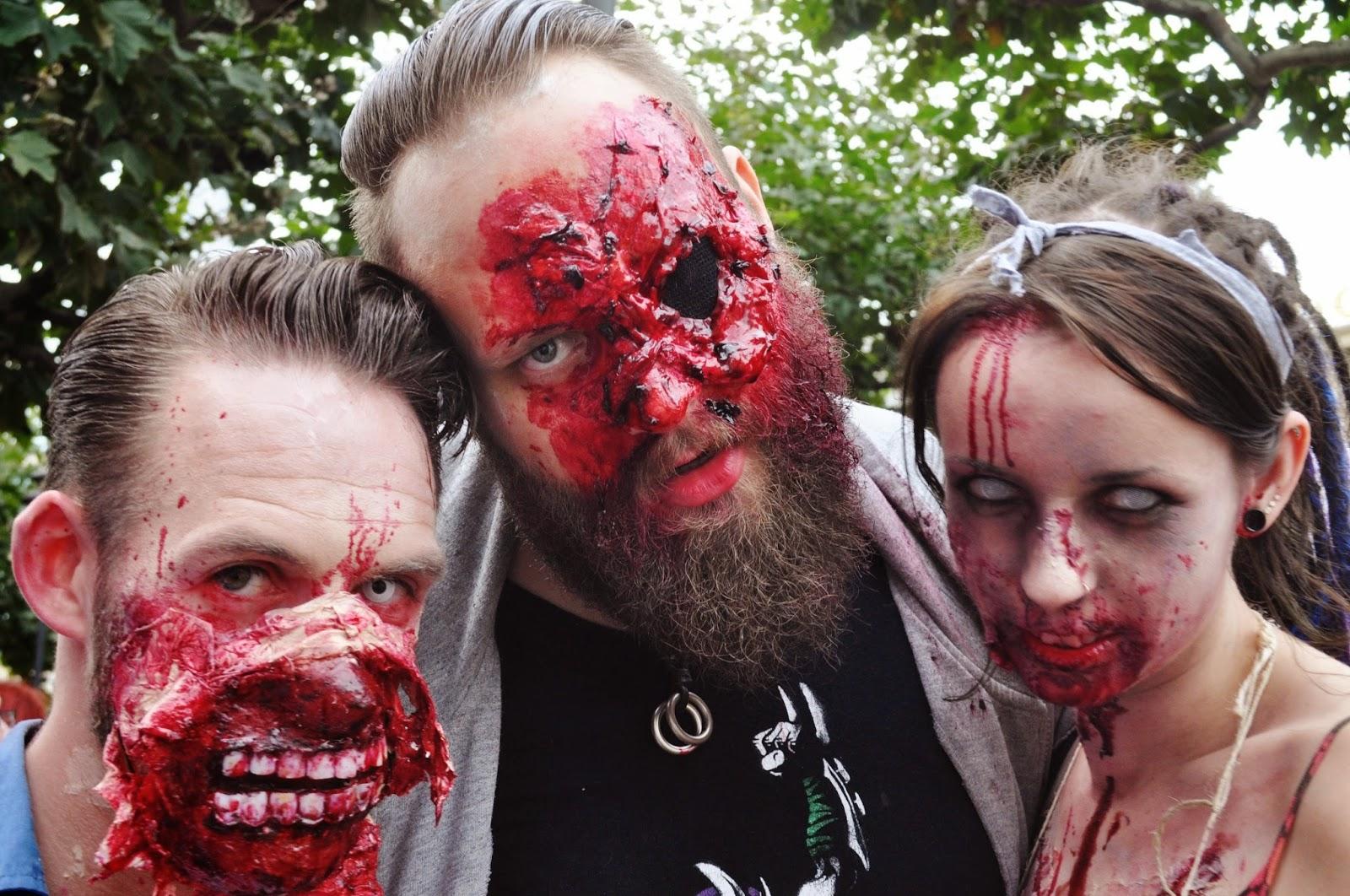 helloschnitzel halloween sch ner verwesen beim zombie walk frankfurt teil i. Black Bedroom Furniture Sets. Home Design Ideas
