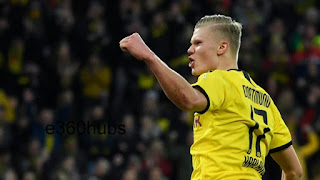 Mino Raiola has confirmed Real Madrid target Erling Haaland will stay at Borussia Dortmund for now.