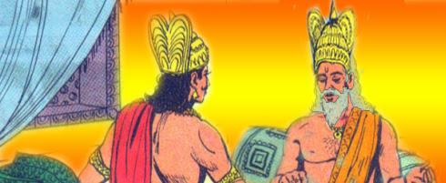 Duryodhana, Dhritarashtra