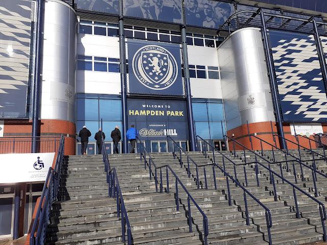 Outside of Hampden Park - Glasgow - Scottish National Team