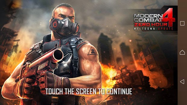 Modern Combat 4: Zero Hour V1.2.2e APK Data (Mod MC4)