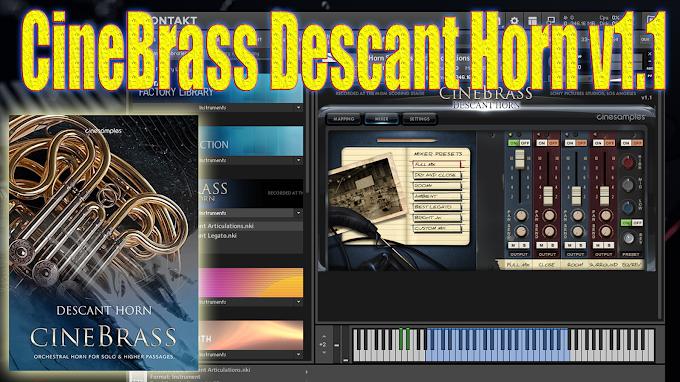 Cinesamples - CineBrass Descant Horn v1.1 (KONTAKT)