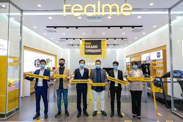 realme Malaysia, Rawlins Tech, Rawlins GLAM, Rawlins Lifestyle, Experience Store, Sunway Pyramid