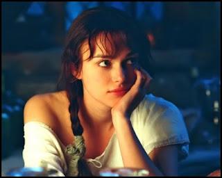 Keira Knightley: Elizabeth Bennet (Orgullo y prejuicio, 2005)