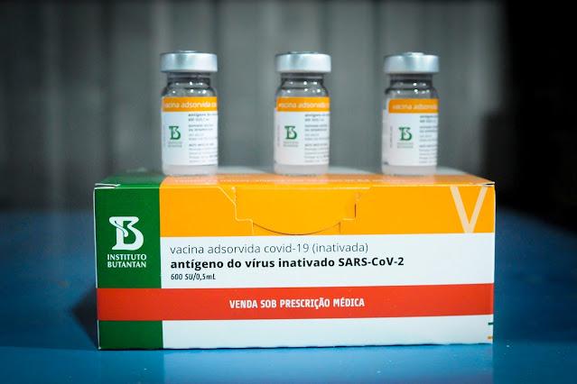 Butantan entrega mais dois milhões de doses de vacina CoronaVac nesta segunda