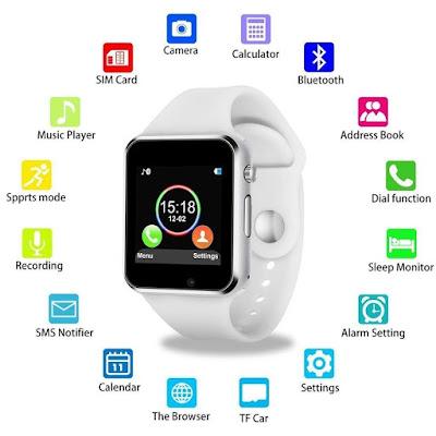 Mobicloud A1 Smartwatch Look Like Apple Watch