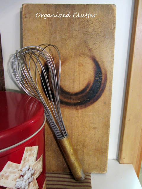 Vintage Kitchen Utensil Vignette