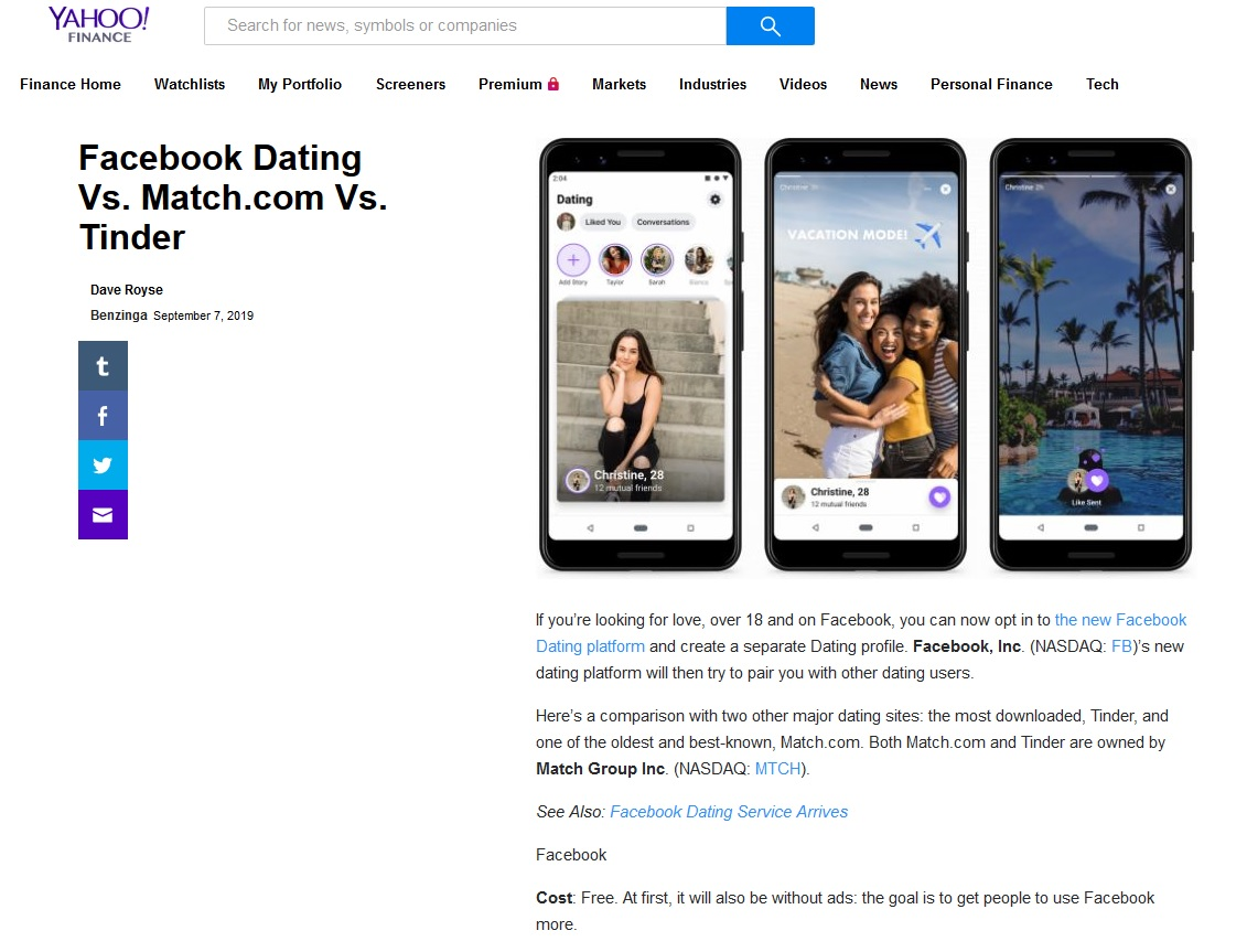 är online dating bra Yahoo