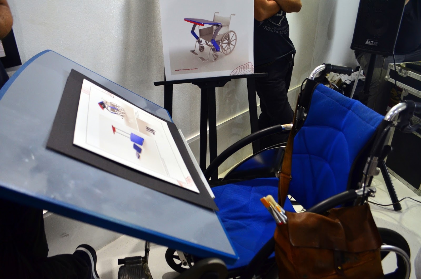 PULSO product wheelchair for someone with special needs