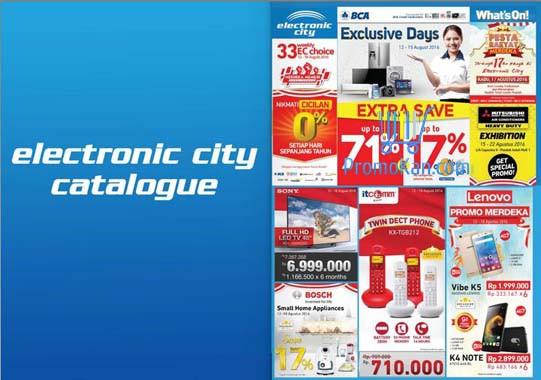 Katalog Promo Electronic City Terbaru Agustus 2016
