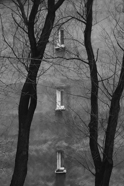 Piktorialny obraz miasta. Ruda Ślaska. Koncepcyjna fotografia krajobrazu. fot. Łukasz Cyrus