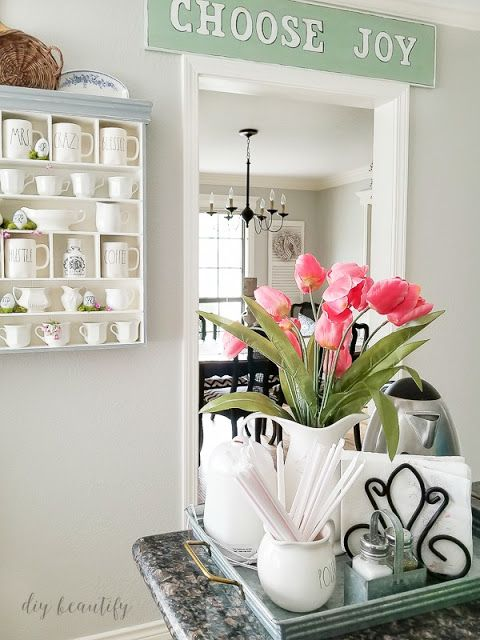 Farmhouse spring decorating ideas