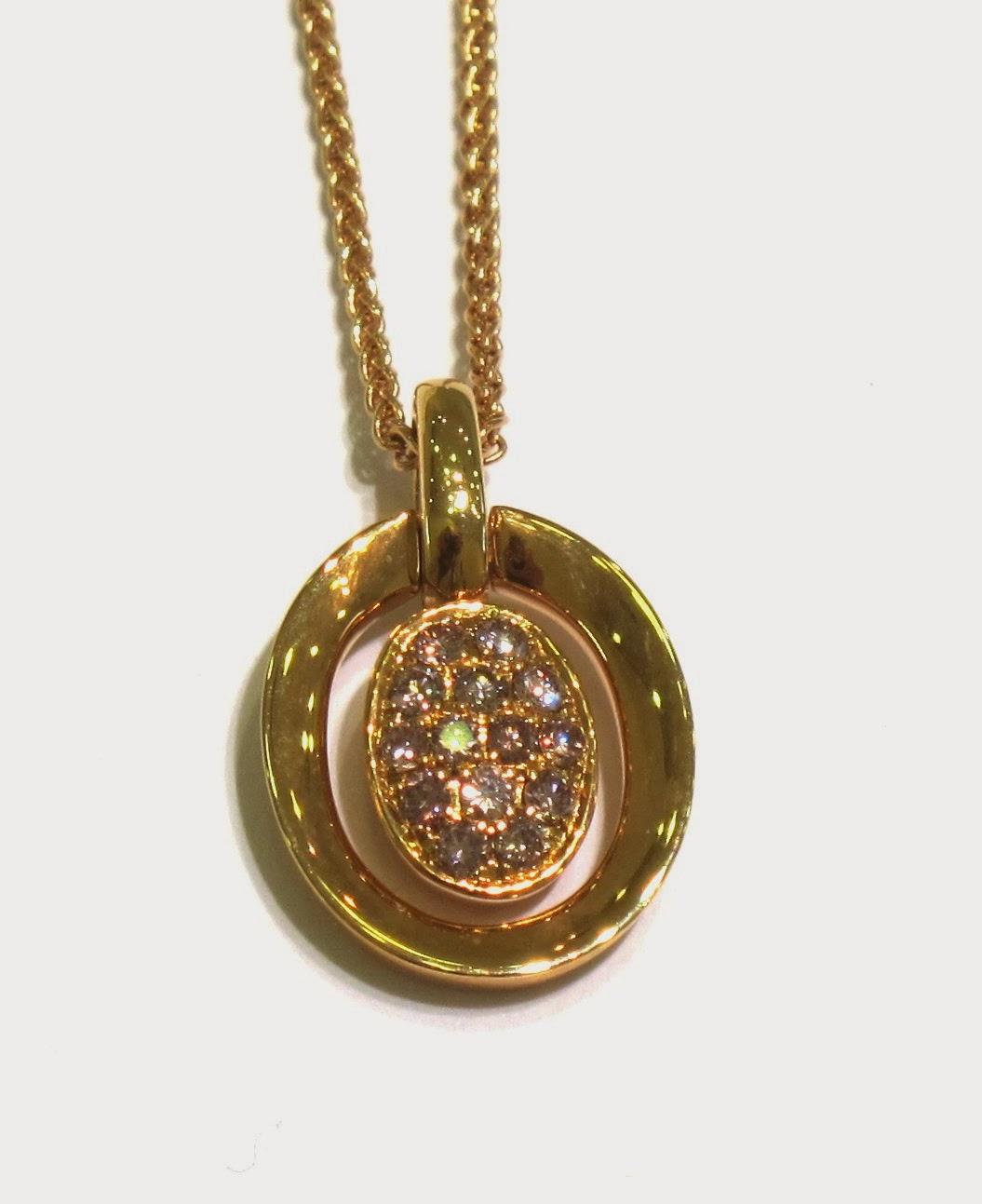 20f81da3685845 More Labels: 18kt, alan diamonds, alan friedman, beverly hills, center,  custom design, designer, diamonds, necklace, oval, pave, pendant, pink,  rose gold, ...