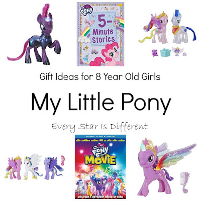 My Little Pony Gift Ideas for 8 Year Old Girls