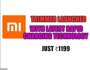 Mi Beard Trimmer by Xiaomi launched in India