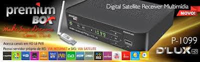 PREMIUMBOX P1099 HD DLUX NOVA ATUALIZAÇÃO MODIFICADA - 14/09/2016
