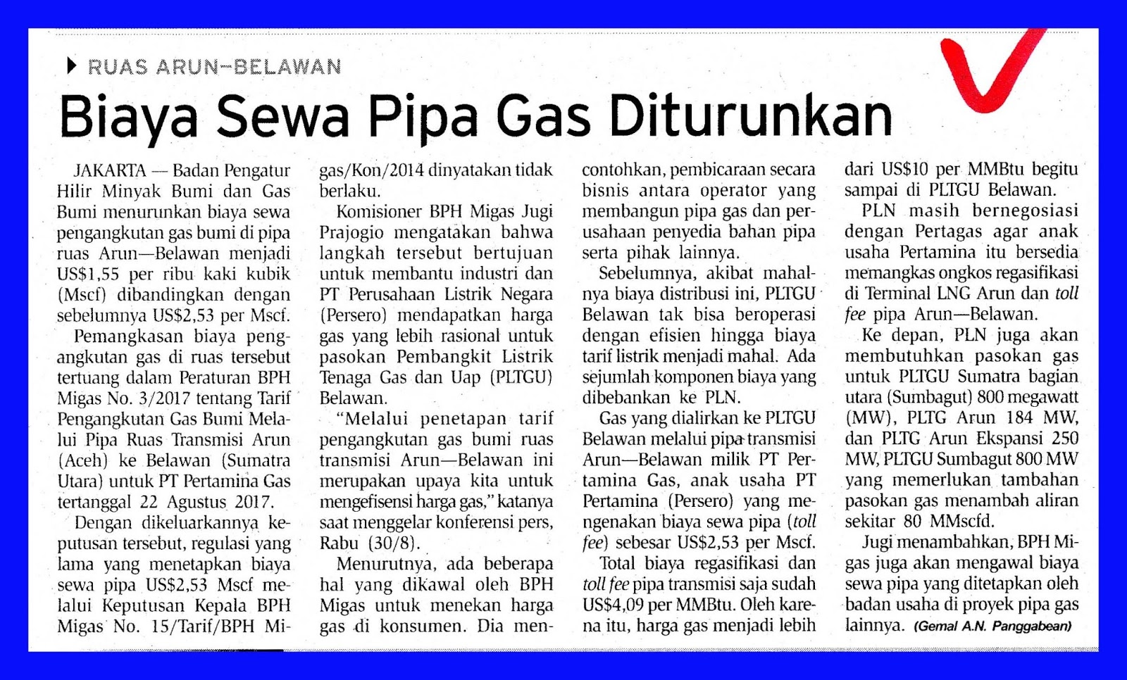 sc 1 st  media monitoring oil and gas & Cost of Rental of Gas Pipe Downgraded | MEDIA MONITORING OIL AND GAS
