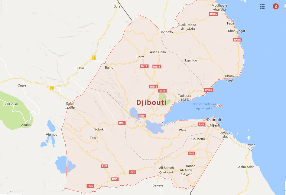 Medeshi News Azerbaijan And Djibouti Reach Aviation Agreements - Republic of djibouti map