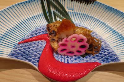 Kyoten Japanese Cuisine, grilled nodoguro