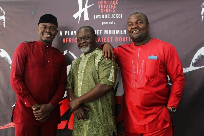 'WogbeJeke' enters next phase with play about Azumah Nelson