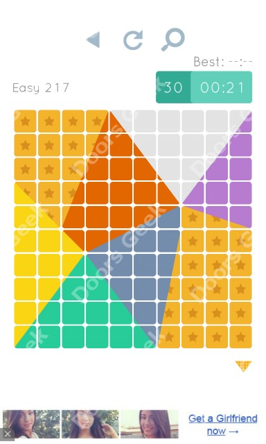 Cheats, Walkthrough for Blocks and Shapes Level 217