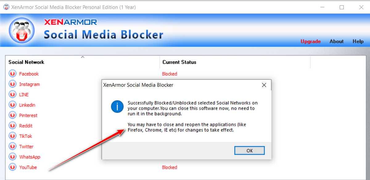 Hướng dẫn chặn vào Facebook, Instagram, TikTok, Youtube, Likedin, Pinterest , Twitter , WhatsApp , Linkedin ..