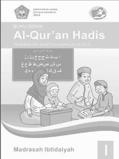 Al-Qur'an Hadis Buku Siswa Kelas 1 Kurikulum 2013 Revisi