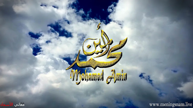 معنى اسم محمد أمين وصفات حامل هذا الاسم Mohamed Amin