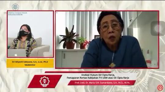 Mahfud Md Tanggapi Kritik Pembimbing Disertasinya soal UU Cipta Kerja