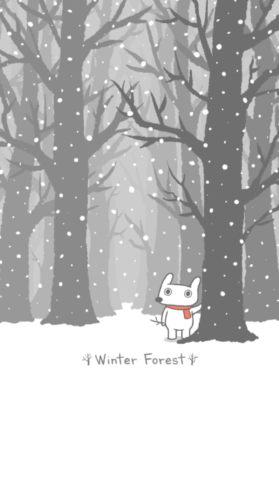 Hey Bu!-Winter Forest
