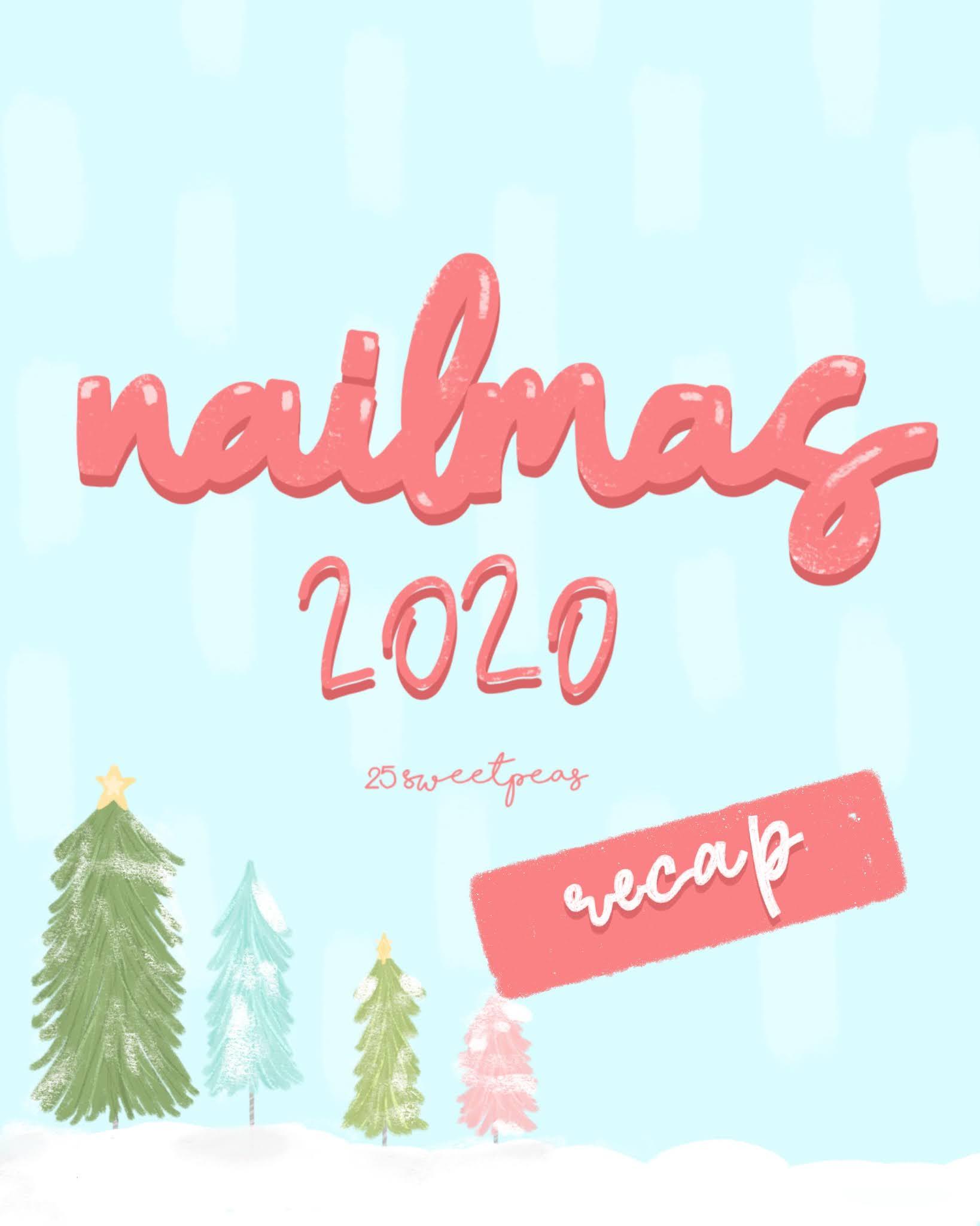 Nailmas 2020 Recap | Christmas Nail Art