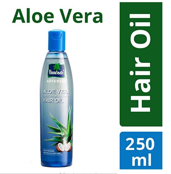 ♦ Deal- Parachute Advansed Aloe Vera Enriched Coconut Hair Oil, 250ml Just Rs.113