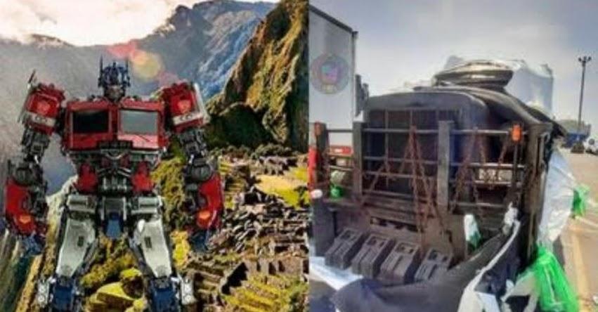 TRANSFORMERS EN MACHU PICCHU: Durante filmación «El despertar de las bestias» no habrá restricciones para la actividad turística