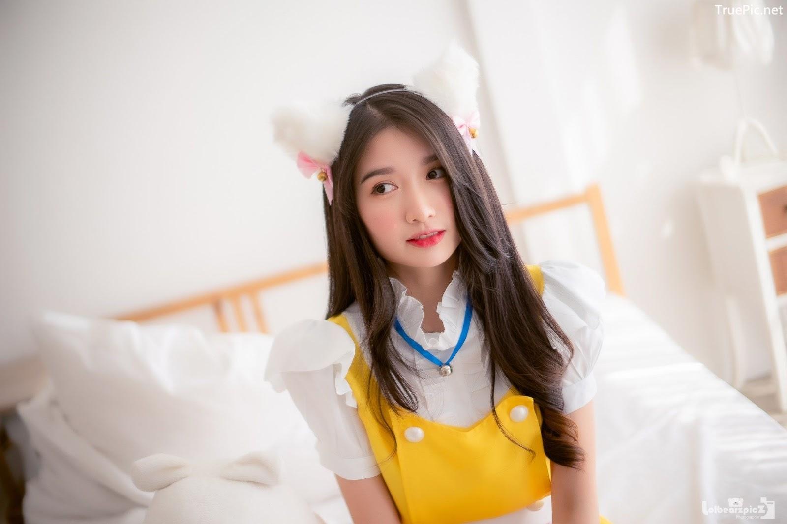 Image Thailand Model - Yatawee Limsiripothong - Cute Maid - TruePic.net - Picture-2