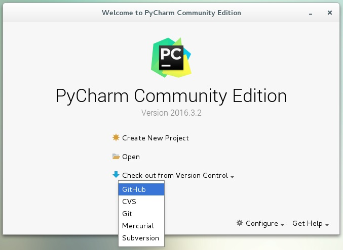 Stream of Consciousness: Python / Linux / VMware 4: Linking PyCharm