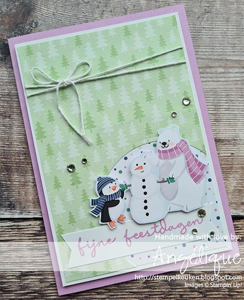 de Stempelkeuken Stampin'Up! producten koopt u bij de Stempelkeuken #stempelkeuken #stampinup #stampinupnl #stampinupdemo #pinguinpret #pinguinplace #ijsbeer #pinguin #sneeuw #winter #kerst #kaartenmaken #knutselen #kerstkaarten #leerkracht #denhaag #westland #poeldijk #honselersdijk #stempelen #cardmaking #stamping #stampedcards #fantastischefeestdagen #feest #gelukkignieuwjaar #creativecards #handmadecards #handgemaakt #diy