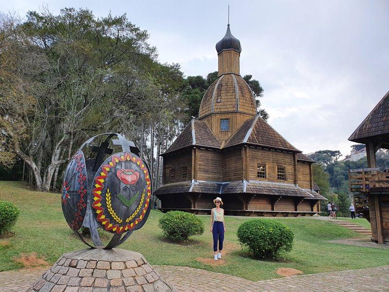 Memorial Ucraniano, Parque Tingui