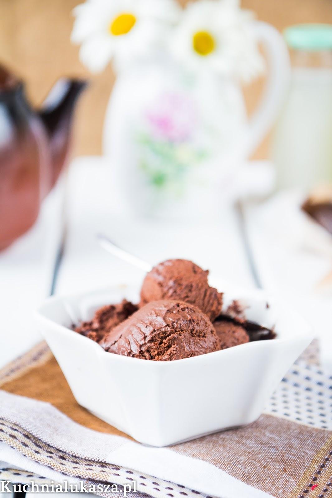 Lody czekoladowe (bez maszyny)