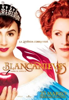 Blancanieves. Mirror, mirror - Cartel
